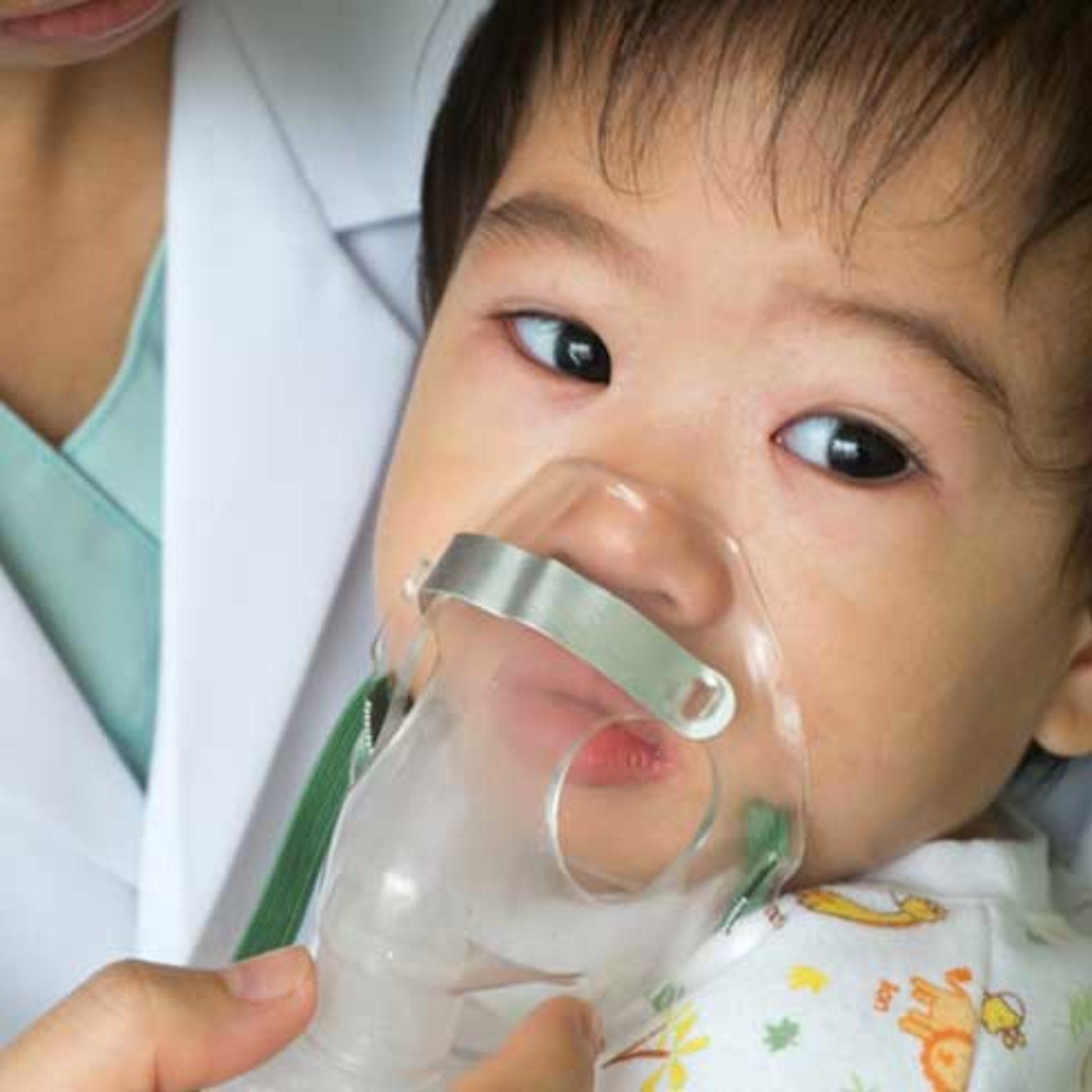 Baby og barn med astma