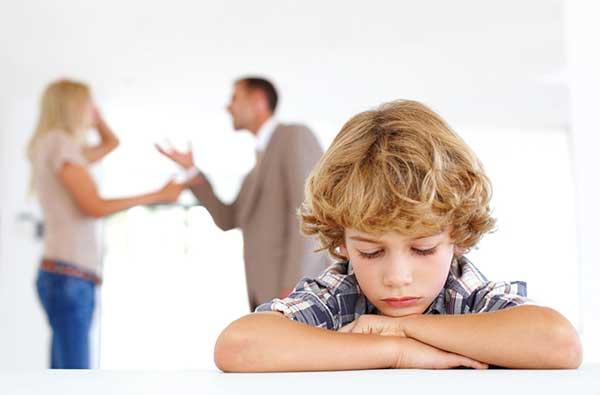 Skilsmissebarn barn av skilte foreldre