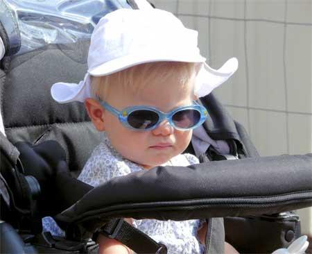 Baby solbriller uv stråler